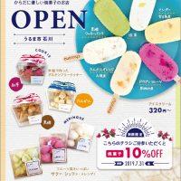 チラシ制作,アイスクリームチラシ